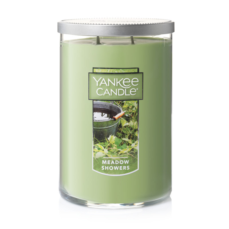 Yankee Candle Scented Candle, Meadow Showers