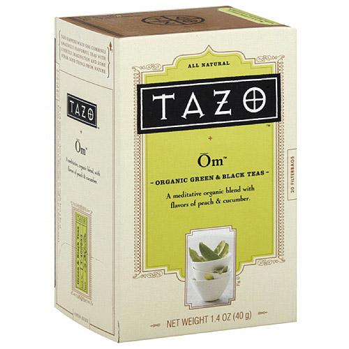 Tazo Organic Green Tea Filterbags, 1.4 oz (Pack of 6)