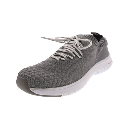 Copper Fit Men's Spirit Lace Up Grey Ankle-High Fashion Sneaker - 9.5M