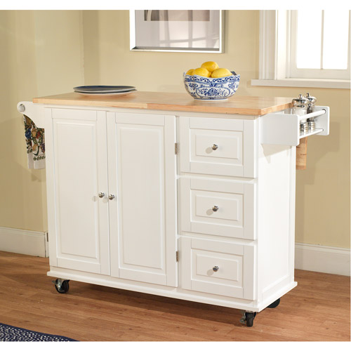 sundance kitchen cart, multiple colors - walmart