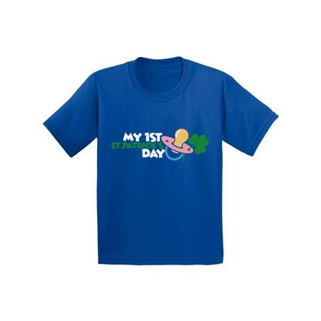 Awkward Styles My First St. Patrick's Day Infant Shirt Baby's 1st St. Patrick's Day Tshirt Saint Patrick Shirt Irish Gifts for Newborn Baby Kids St. Patrick's Day Outfit Cute Lucky Irish One Piece