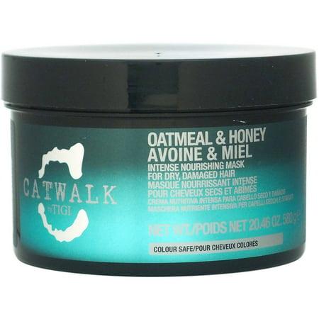 TIGI Catwalk Oatmeal & Honey Intense Nourishing Mask for Unisex, 20.46 oz