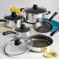 Deals on Tramontina Simple Cooking Non-Stick Cookware Set 9 Piece