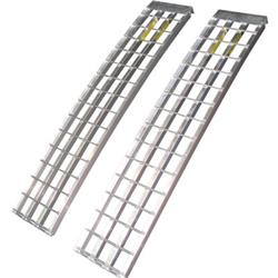 Aluminum Trailer Ramps - Mfg In The USA - 5ft.L x 12in W 5,000 lb Cap. Per Pair