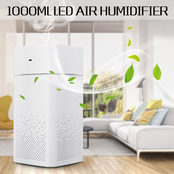 Table Top Humidifiers 1l Cool Mist Aroma Humidifier For Bedroom Home With Night Light Best Whole House Vaporizer Whisper Quiet 7 Color Led Lights Large Water Tank Walmart Com Walmart Com