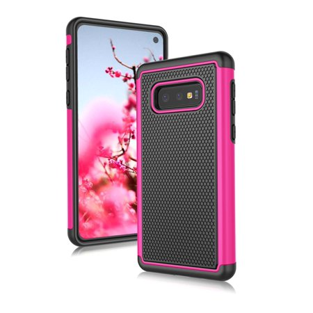 newest 98de4 2afd0 Samsung Galaxy S10E Case, Galaxy S10E Case, Njjex [Shock Absorption] Dual  Layer Hybrid Armor Defender Protective Case Cover for Smamsung Galaxy S10E  ...
