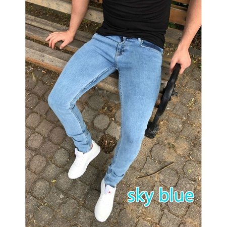 Boy's Skinny Destroyed Distressed Jeans Pants