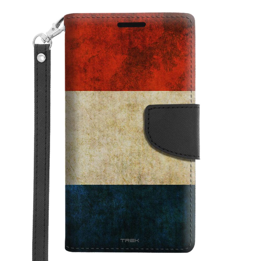 Microsoft Lumia 640 Wallet Case Vintage Dutch Flag by Trek Media Group