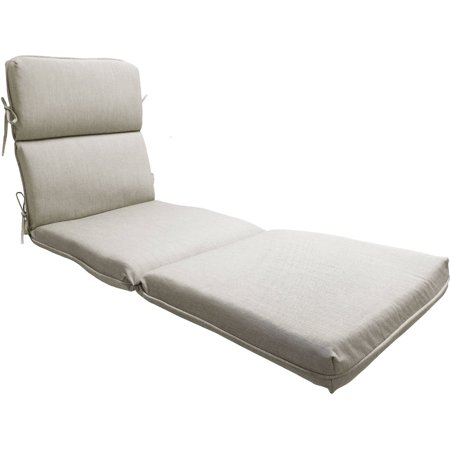 Better homes and gardens chaise cushion tan for Better homes and gardens chaise lounge