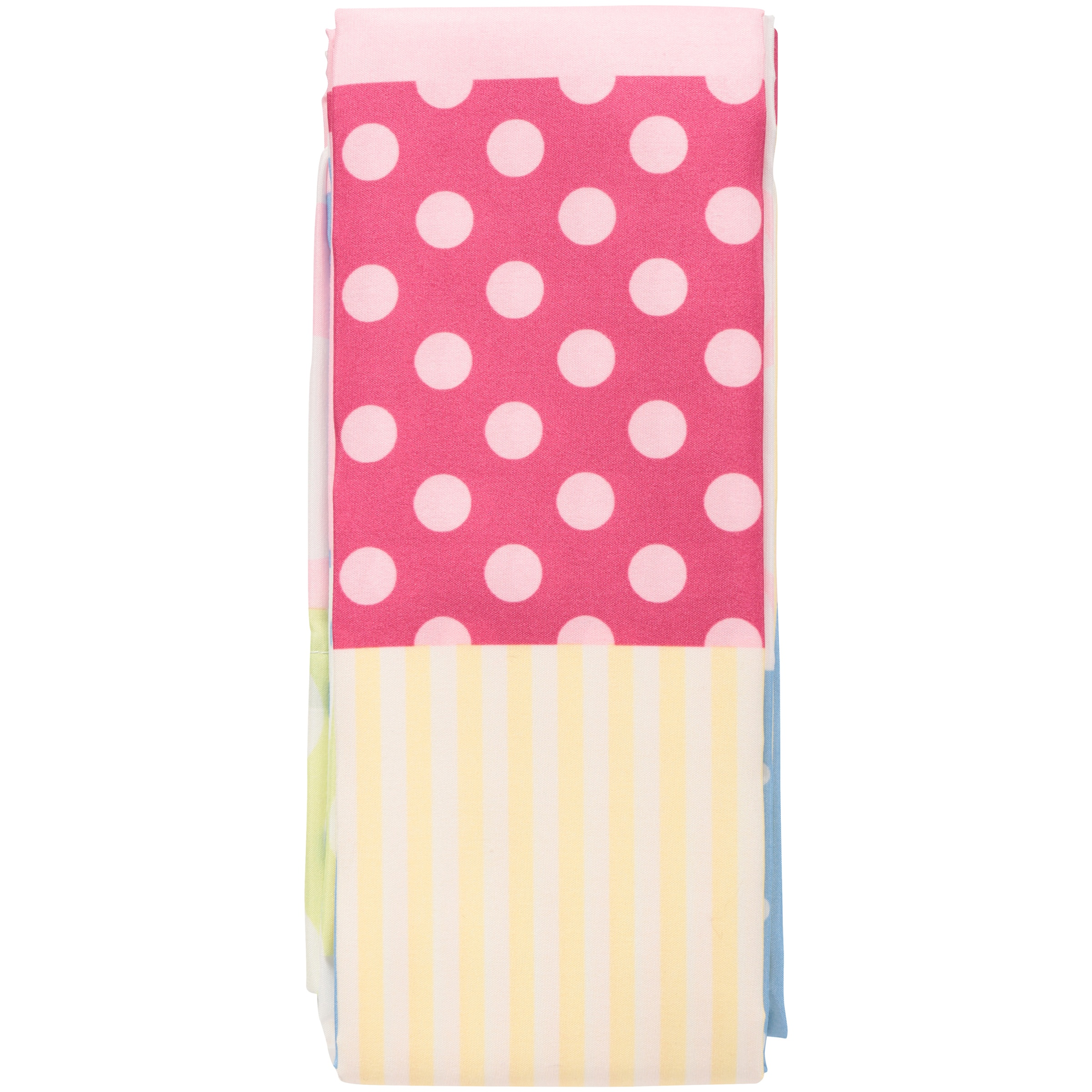 Mainstays Pink Rally Girls Bedroom Curtains, Set of two