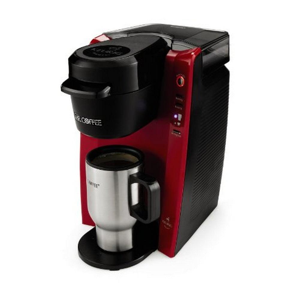 Mr Coffee Single Serve Red Coffee Brewer Machine 1 Each Walmartcom