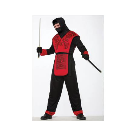 Fire Dragon Ninja Costume (CO - FIRE DRAGON NINJA - STD)