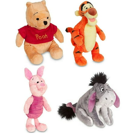 Winnie the Pooh | Piglet - Tigger - Winnie - Eeyore | Mini Bean Bag Plush Toy Figure Stuffed Animal 7
