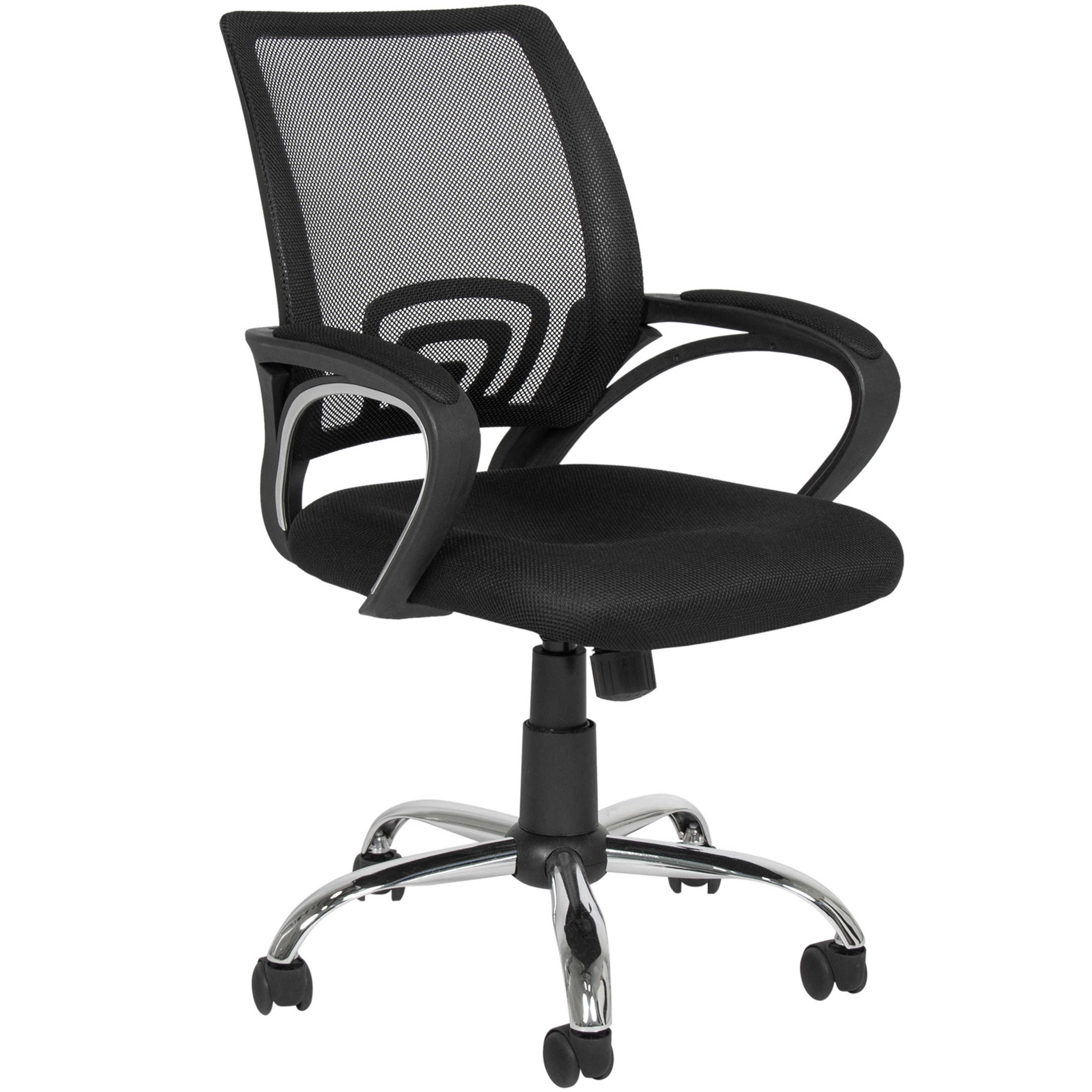 best choice products ergonomic mesh computer office desk task midback task chair wmetal base - Office Desk Chairs