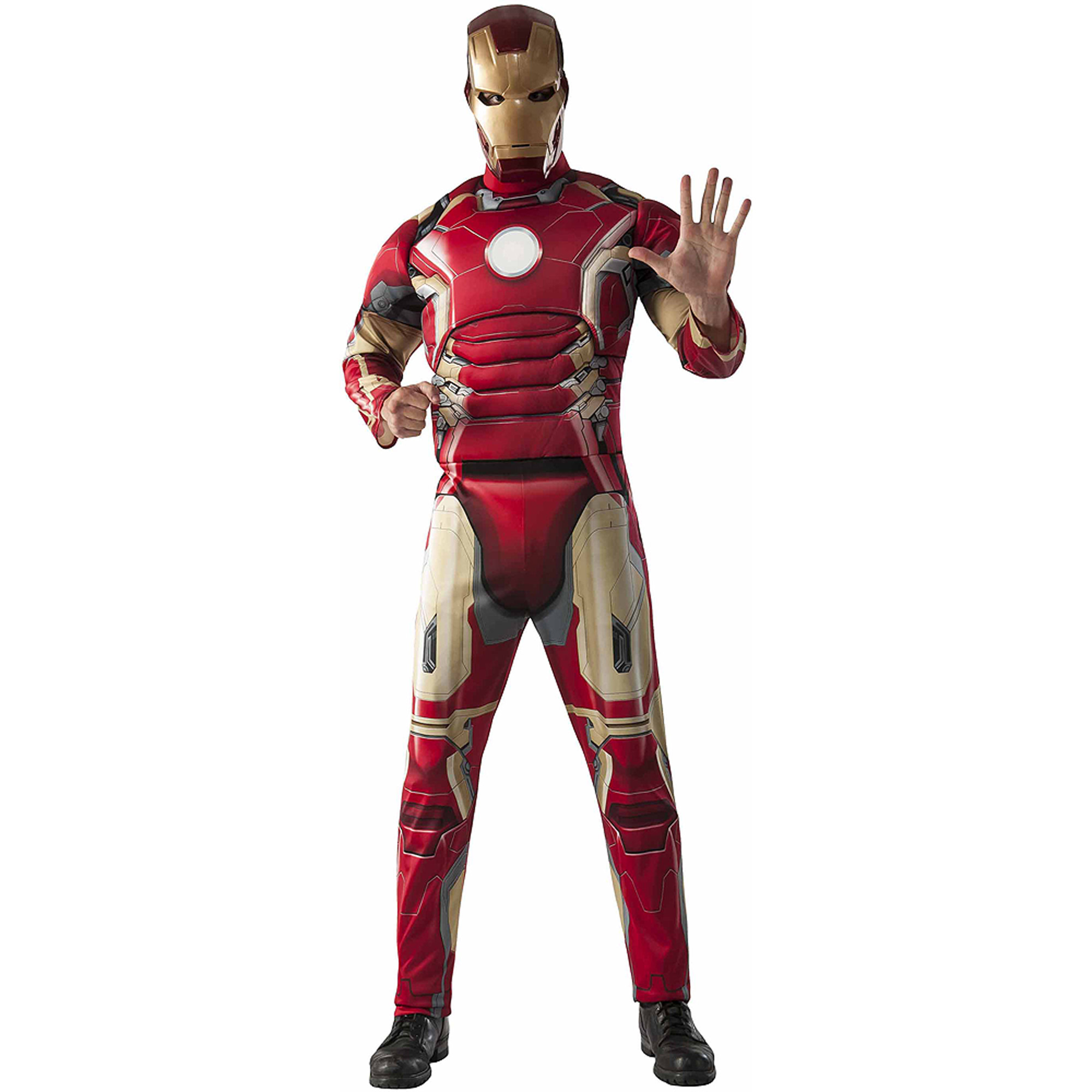 Avengers Ironman Fiber Fill Chest Men's Adult Halloween Costume