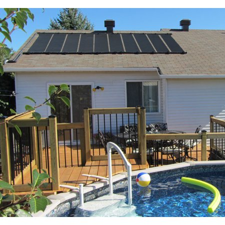 Solar Spa Heater (2-2'x10' SunQuest Solar Pool Heater with Couplers and Roof/Rack Mounting Kit )