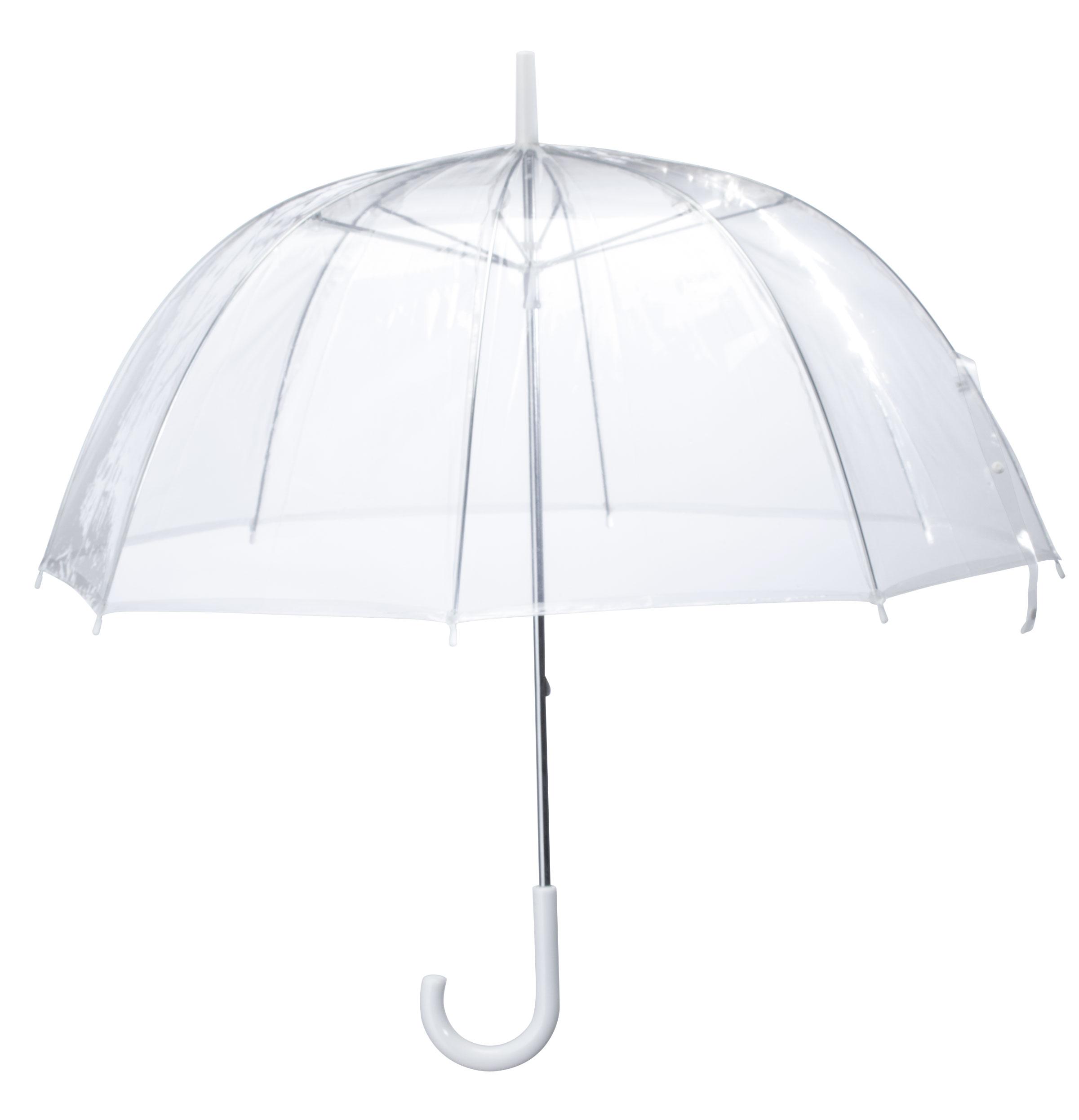 Miles Kimball Clear Dome Umbrella