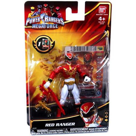 Power Rangers Megaforce Red Ranger Action Figure - Robo Knight Megaforce
