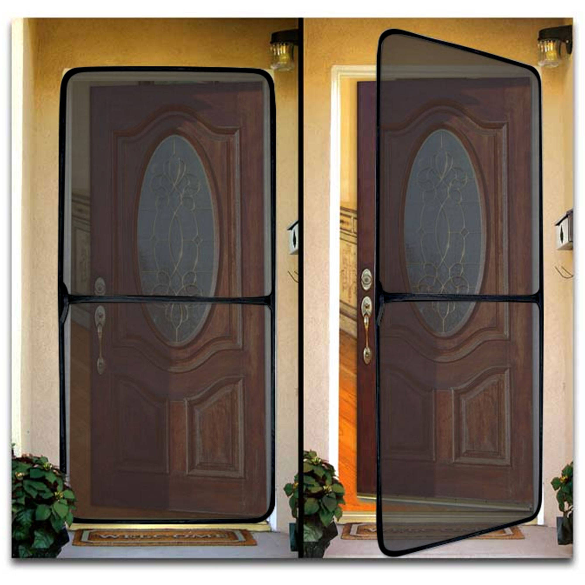 & Instant Screen Door For Home And Office - Walmart.com