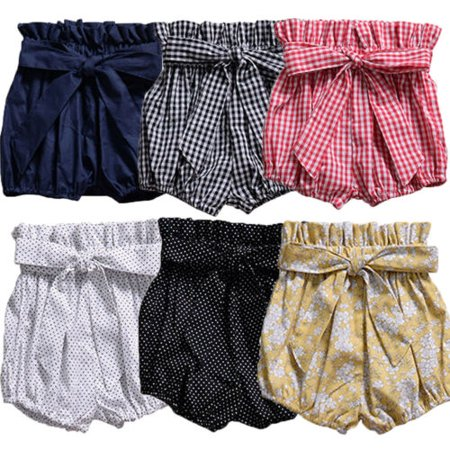 Toddler Girl Diaper Covers (Baby Girl Toddler Kids Pants Bloomers Shorts Diaper Nappy Cover Trousers)