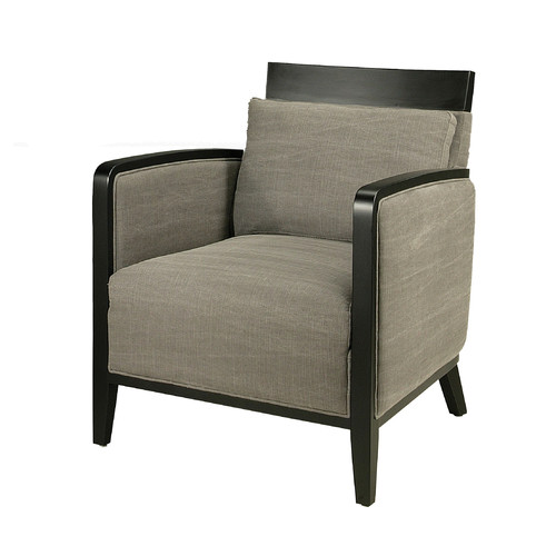 Pastel Furniture Elloise Club Chair in Gray