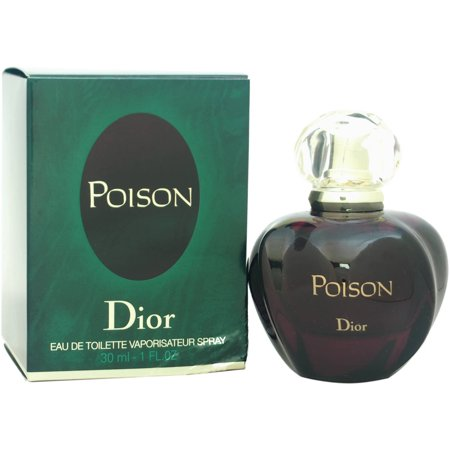 Christian Dior Poison for Women Eau de Toilette Spray, 1 oz