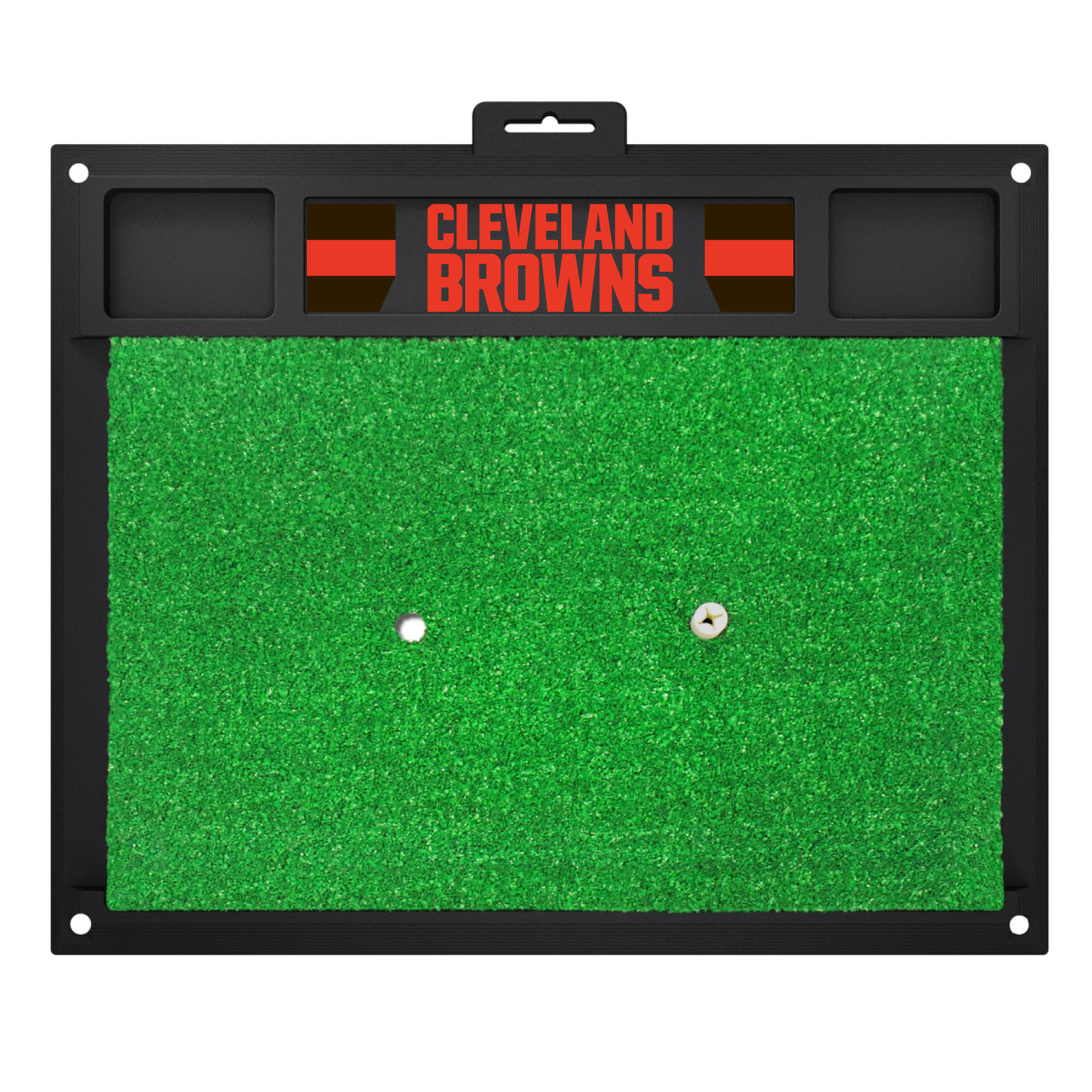NFL Cleveland Browns Golf Hitting Mat Golf Practice Accessory