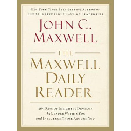 The Maxwell Daily Reader : 365 Days of Insight to Develop the Leader Within You and Influence Those Around You - 10 Of Those Halloween