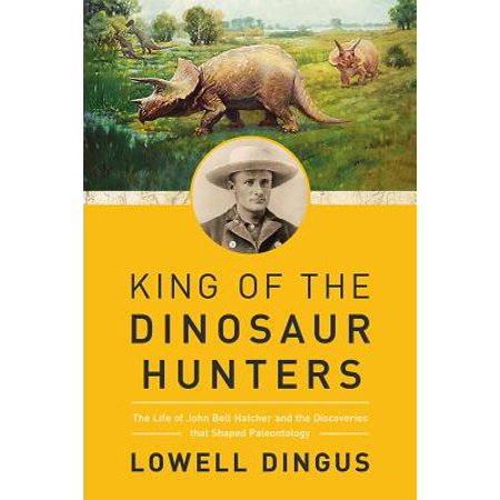 King of the Dinosaur Hunters : The Life of John Bell Hatcher and the Discoveries That Shaped Paleontology - Dinosaur King Cards