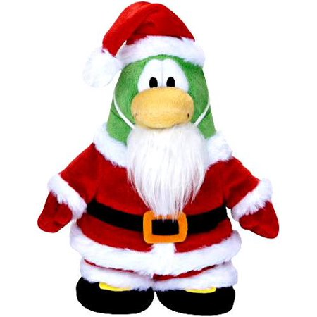 Club Penguin Series 5 Santa Plush Figure [Holiday, Version 2]