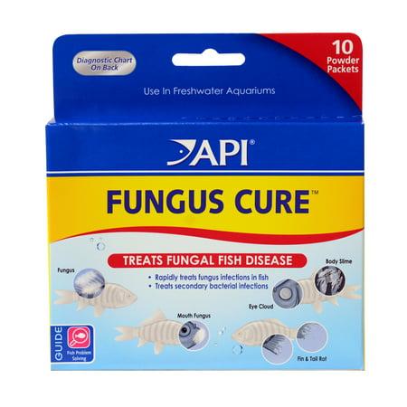 Antibacterial Fish Medication - API Fungus , Freshwater Fish Powder Medication, 10-Count