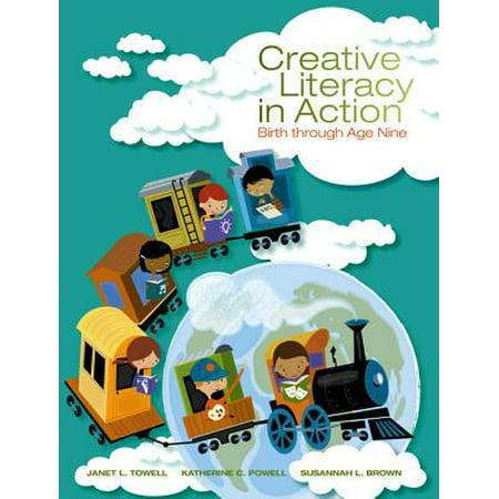 Creative Literacy in Action : Birth Through Age - Janet Leigh Halloween
