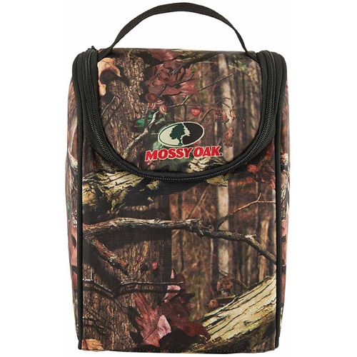 Mossy Oak Break-Up Infinity Insulated Neoprene Lunch Bag with Sandwich Pack