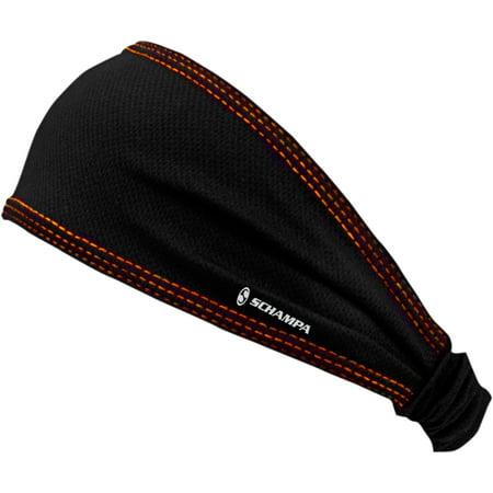 Schampa Cool Skin (SCHAMPA & DIRT SKINS Mini Doo-Z Headwraps   Coolskin Black/Orange DZ015B-06 )