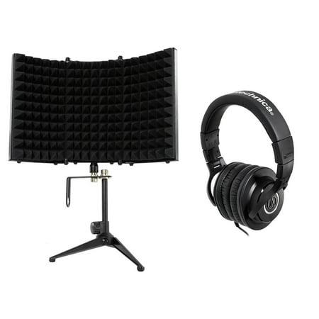 Audio Technica ATH-M40x Studio Monitor Headphones ATHM40x+Foam Isolation