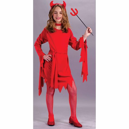 Darling Devil Child Halloween Costume - Girl Devil Halloween Makeup