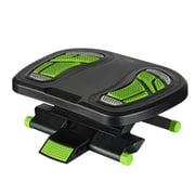Adjustable Footrest Ergonomic Angle and Height Under Desk Foot Rest, Black