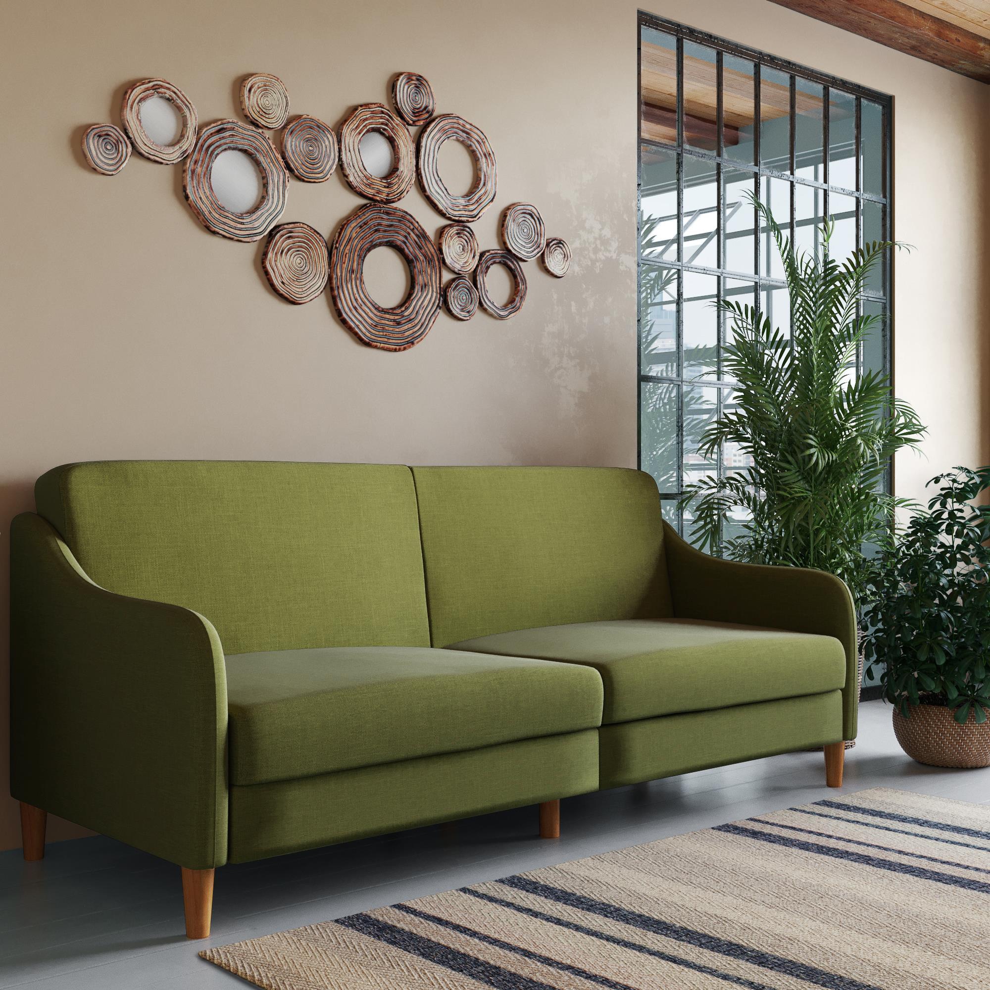 Sensational Dhp Jasper Coil Sofa Bed Gray Walmart Com Andrewgaddart Wooden Chair Designs For Living Room Andrewgaddartcom