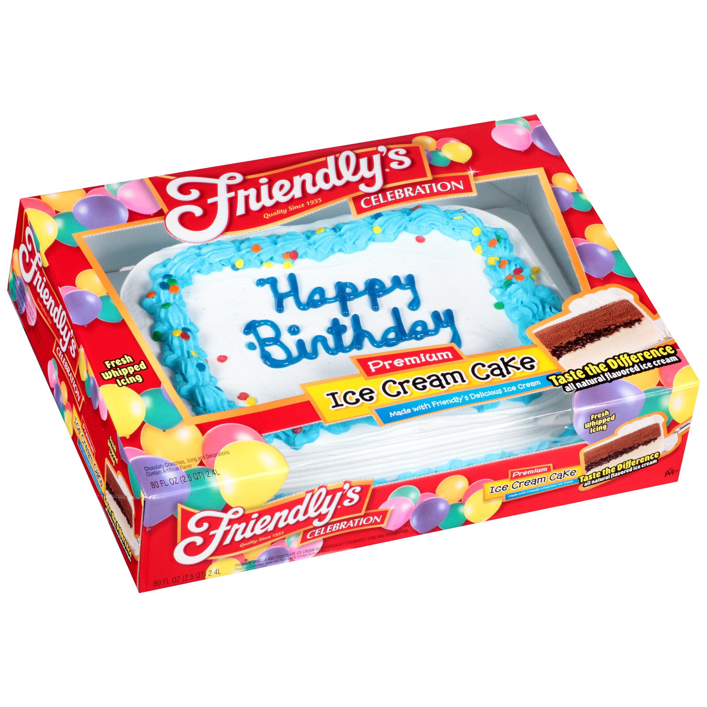 Friendlys Ice Cream Cake Walmart