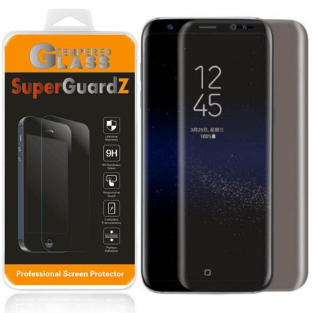 For Samsung Galaxy S7 Edge - SuperGuardZ 3D Curved [Full Cover] Privacy Anti-Spy Tempered Glass Screen Protector, 9H, Anti-Scratch, Anti-Bubble,