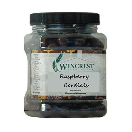 Chocolate Raspberry Cordials - 1.5 Lb Tub