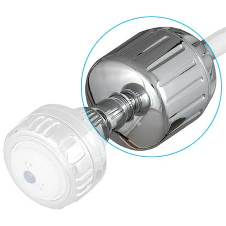 upc 741517106204 sprite all brass high output chrome chlorine removing shower filter. Black Bedroom Furniture Sets. Home Design Ideas