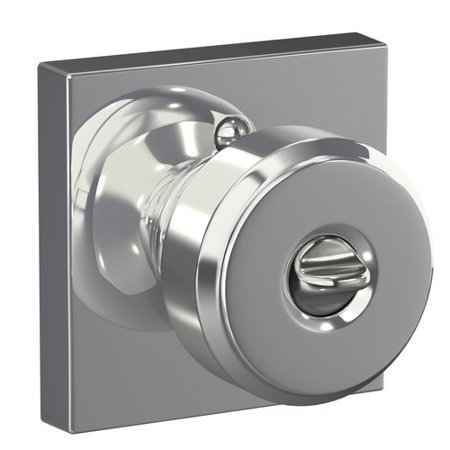 Schlage Bowery Keyed Entry Knob With Collins Trim
