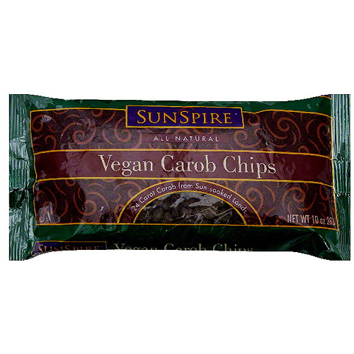 Sunspire Vegan Carob Chips, 10 oz (Pack of 12)