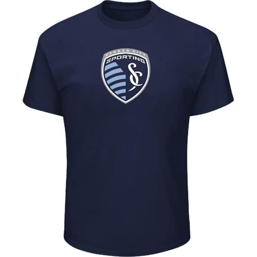 Men's Majestic Navy Sporting Kansas City Season After Season T-Shirt