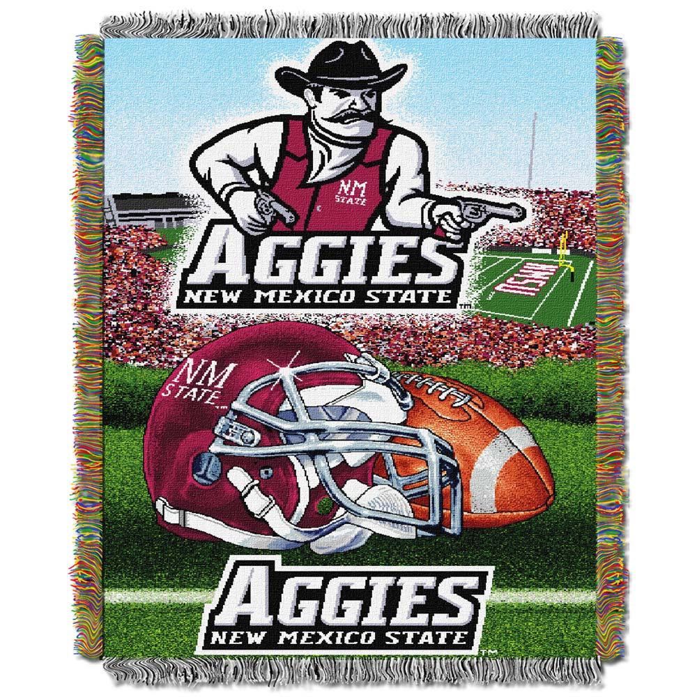 New Mexico State Woven Tapestry Blanket