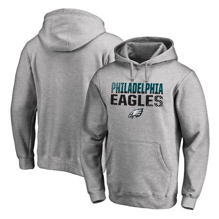 5e23b795223 Philadelphia Eagles NFL Pro Line by Fanatics Branded Iconic Collection Fade  Out Pullover Hoodie - Ash - Walmart.com