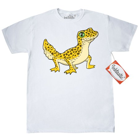 Inktastic Cute Leopard Gecko T-Shirt Pets Reptiles Lizard Herpatology Herpatologist Spots Love Pet Herp Mens Adult Clothing Apparel Tees - Cute Geckos
