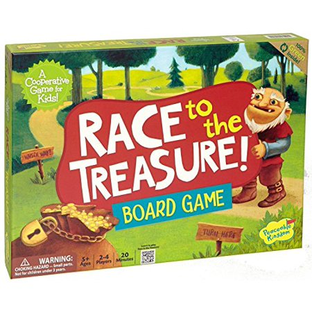 Race to the Treasure Board Game by Peaceable