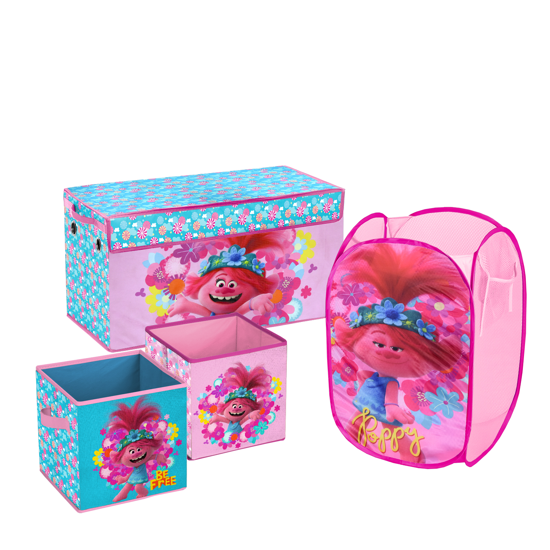 Multicolor ys//m ARDITEX Trolls-3D Storage Bin 40X40X70Cm